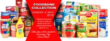 FOODBANK COLLECTION DAY - SUNDAY, 4 NOV  2018