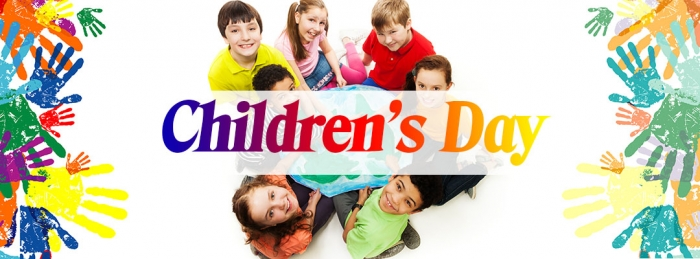 Children's Day: Sunday, 28 May 2017