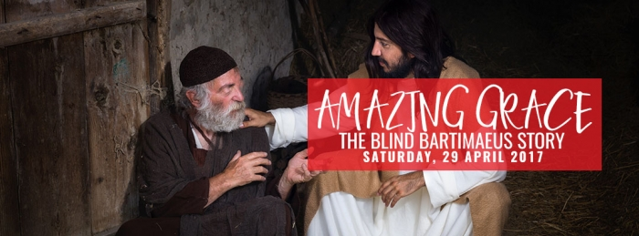 AMAZING GRACE  (SATURDAY, 29 APRIL 2017)